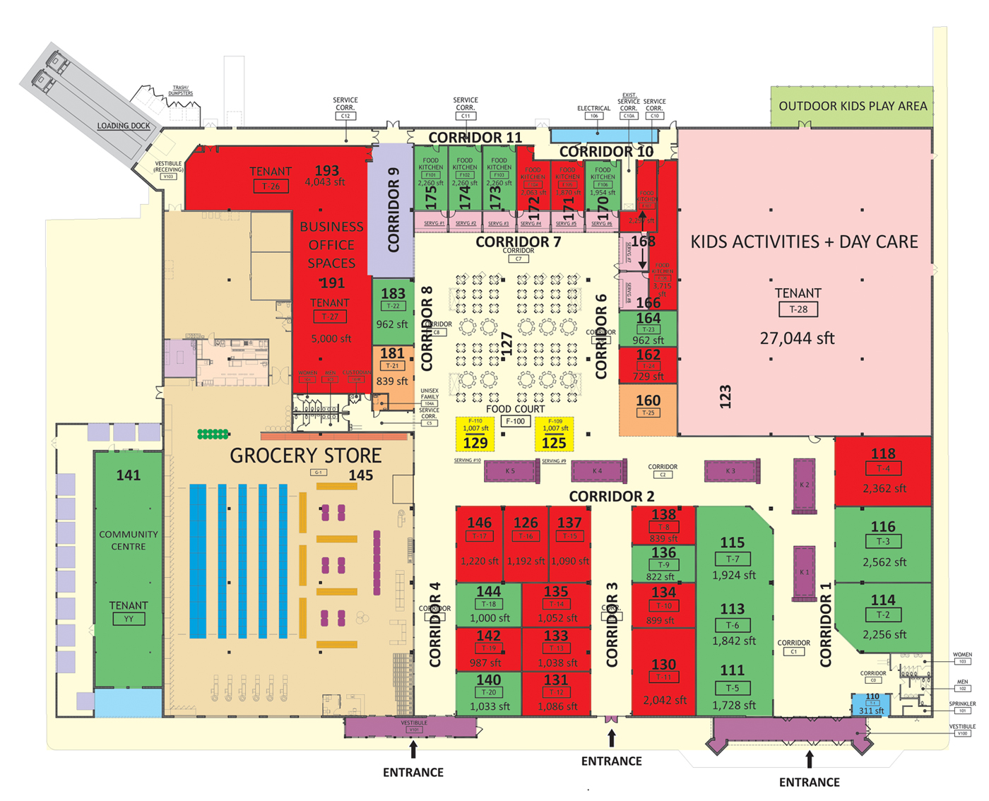 Mall of India Floor Plan